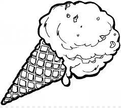 ice cream cones banana split sundae create your own coloring book