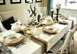 Dinner Table Setting Ideas Dinner Table Decoration Top Romantic Best Dining Room Table Settings Decoration