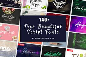 169 downloads free for personal use. 150 Free Beautiful Script Fonts For Designers In 2020 Creativetacos