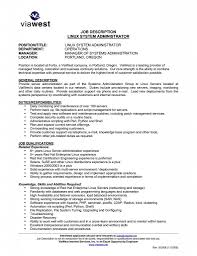 Unix Sys Administration Sample Resume 21 Database Administrator Cv