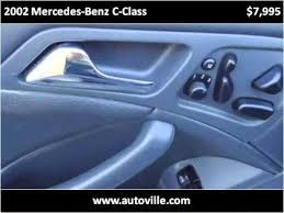 2002 mercedes benz c cl available from autoville motors