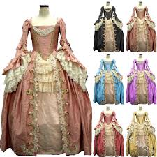 5xl Renaissance Vintage <b>square</b> collar Medieval Princess Dress ...