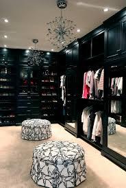 Amazing of Luxury Master Closet Mirrored Walk In Closet Contemporary