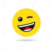 Wink Emoticon Or Emoji Symbol Royalty Free Cliparts Vectors And