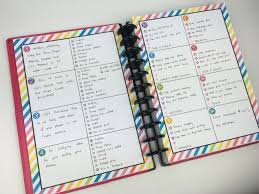 using planner stamps for weekly planning self inking frixion erasable mambi list making review diy planner