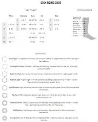 Darn Tough Vermont Sock Size Chart Darn Tough Sock Sizing Image Sock And Collections