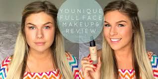 honest younique full face makeup review