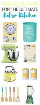 Retro Kitchen Decor Accessories Nostalgic VintageInspired Kitchen Decor and Gadgets that are 100