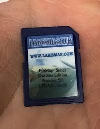 Lakemaster Dakotas Lowrance Gps Map Chip Standard Sd Card