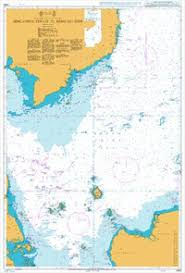 Nautical Chart Ba 3482 Singapore Strait To Song Sai Gon 2012