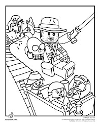 Lego Coloring Pages Lego Indiana Jones Coloring Page Cartoon Jr