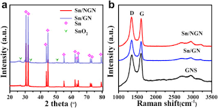 Ion Assisted Anchoring Sn Nanoparticles On Nitrogen Doped