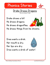 These kindergarten reading comprehension worksheets use simple stories and text to develop basic comprehension skills. Reading Comprehension Worksheet Drake Draws Dragons