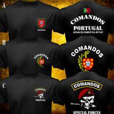 Details About Portuguese Army Special Forces Commando Comandos Portugal Military T Shirt