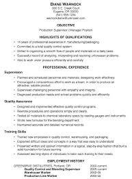 Production Resume Example Good Baker Job Description Baker Resume