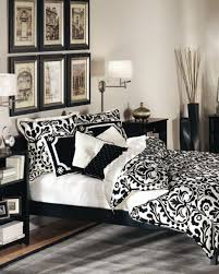 Small Black And White Bedroom Bedroom Black Wicker Chair Black White Themed Bedroom Interior