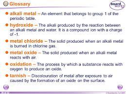 KS4 Chemistry Alkali Metals. - ppt video online download