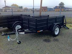 new c w brand 7 ton dump trailer 3ft sides bibb utility trailers iron eagle magnum 4 x 8 utility trailer ramp
