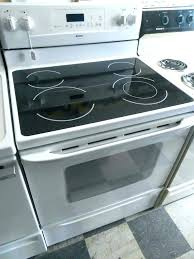 glass top stoves appliance city ultra bake electric inch flat stove sears burner repair kenmore elite