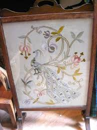 victorian fireplace screens serendipity antiques antique dealers kelso melrose scottish
