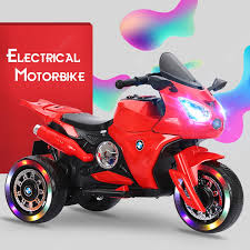 Children Electric Motorcycle Baby Tricycle Boy Toy Car Child ...
