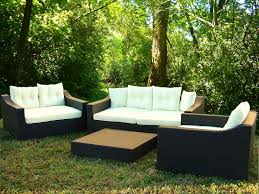modern design outdoor furniture decorate. graceful garden decoration with contemporary outdoor patio of black chairs also white seat modern design furniture decorate