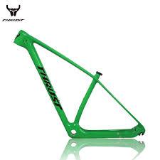 Thrust Mountain Bike Carbon Mtb Frame 29er T1000 China Carbon Frame Mtb 27 5er 19 Bicycle Frame With Headset Clamp Downhill Bike Frames Road Bike