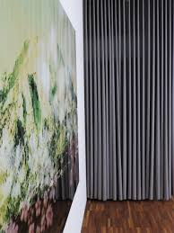 Blickdichter Vorhang Singapur Seidenfein Beige Braun Grau