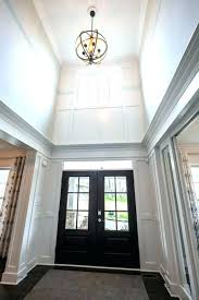 entry way chandelier 2 story foyer chandeliers how high to hang