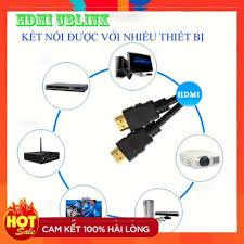 Hãng]Dây HDMI UBLINK XỊN 10M 15M 20M 25M lõi đồng HDTV 4K*2K (19+1) - Dây  HDMI To HDMI tròn chuẩn FULL HD 1080p - Dây cáp tín hiệu khác Nhãn hiệu  UB-Lịnk