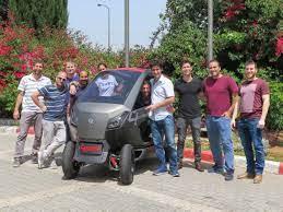 פיתוח ישראלי: רכב מתקפל שיכנס גם לחנייה הצפופה ביותר בעיר