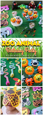 fun ideas for a birthday party at home. we threw giada a zoo animal themed birthday party. she loves the and animals fun ideas for party at home d