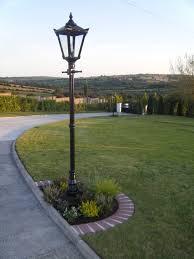 cast iron garden light
