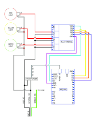 How To Make A Traffic Light Sequencer Traffic Signal Stop Light Wiring With Arduino Controller