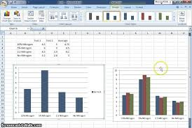 Graph Chart For Science Project How To Make A Science Fair Table And Graph