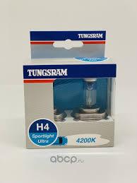 <b>TUNGSRAM</b> 50440SBU 12V <b>Лампа Tungsram</b> H4 60/55W компл ...