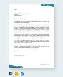 write letter recommendation college student free 20 college recommendation letters in pdf word
