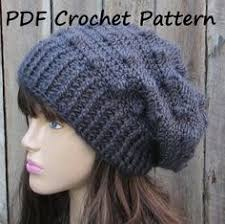 Hipster Beanie Crochet Pattern Gorgeous Slouchy Beanie Crochet Pattern 48 Crochet And Knit