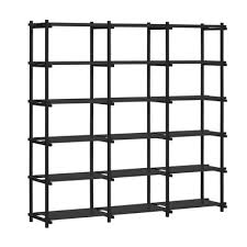 furniture bookcases bookshelves woody shelf l 206 x h 196 cm by