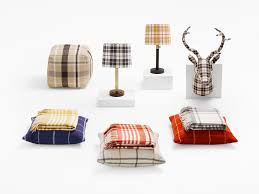 plaid home decor from target fall 2015 popsugar home