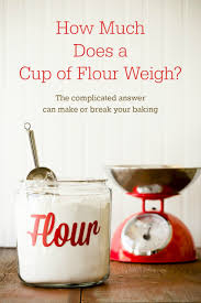 How Much Is A Cup Of Flour In Grams Cupcake Project