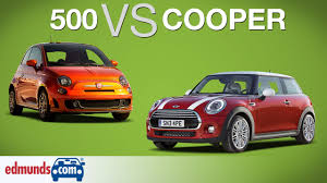 FIAT 500 vs MINI Cooper   Which Sub-Compact is Best? - YouTube