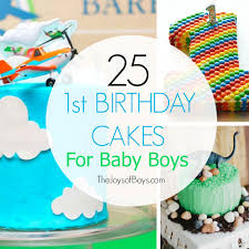 25 First Birthday Cakes For Boys Perfect For 1st Birthday Party