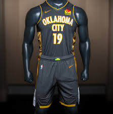 Okc New Jersey Design Thunder Releases City Uniforms Honoring Those Impacted By
