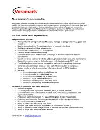 Sample Resume Job Description Sales Representative Fresh Inbound