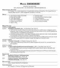 Resume Objective Civil Engineer Civil Engineer Resume Beautiful Recent Civil Engineering Resume 43
