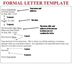 Professional Letter Writing Format Letters Free Sample