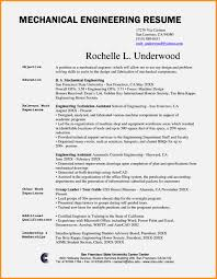 Fascinating Mechanical Engineering Resume Format For Your Sample