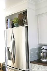 built in refrigerator cabinet. Refrigerator Enclosure Home Built, Appliances, Diy, Kitchen Cabinets, Design, Woodworking Projects Built In Cabinet