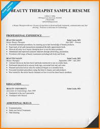 8+ cv simple sample for beautician